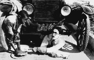 Harold Lloyd, the car, and little Ernie Morrison